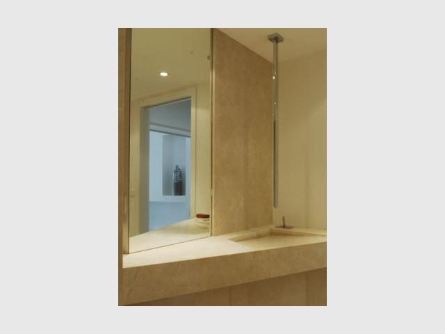 Vasque - SDB - Rénovation loft Toulouse - Marina Moroni