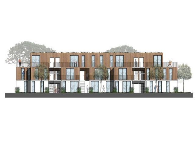 Coupe logements intermédiaires