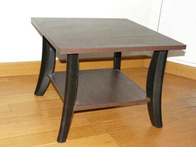 Table basse marron
