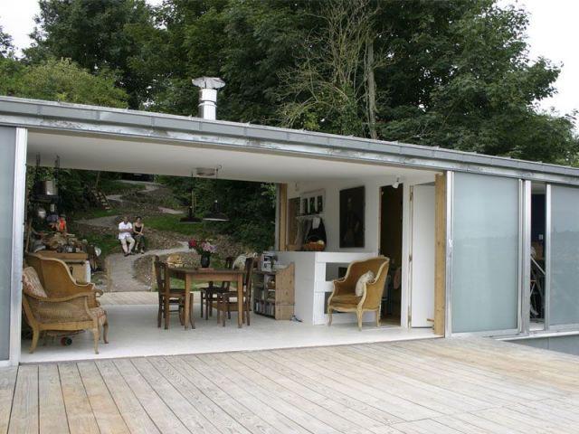 Catégorie Maison individuelle - architecture contemporaine - Grande surface - Maison individuelle - Grande surface