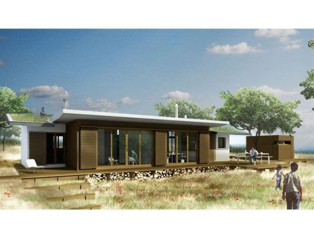 Maison bioclimatique - Eco-concept