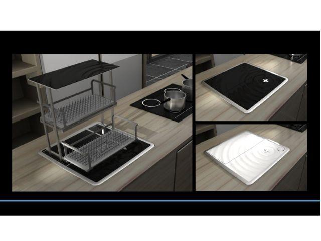 """""""Onis"""", le lave-vaisselle encastrable - trophée du design de Dietrich"""