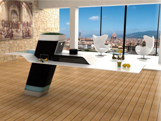 """""""Rinascimento"""", premier prix de design espace cuisine - trophée du design de Dietrich"""