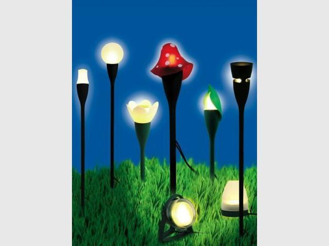 Lampes de jardin