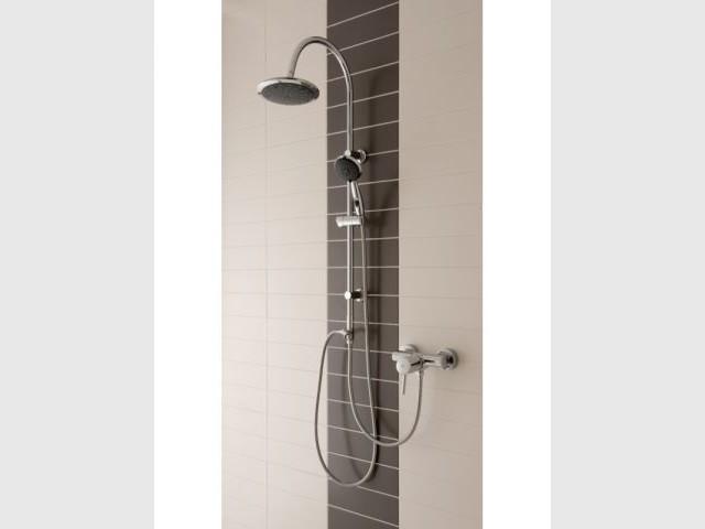 ensemble combiné de douche