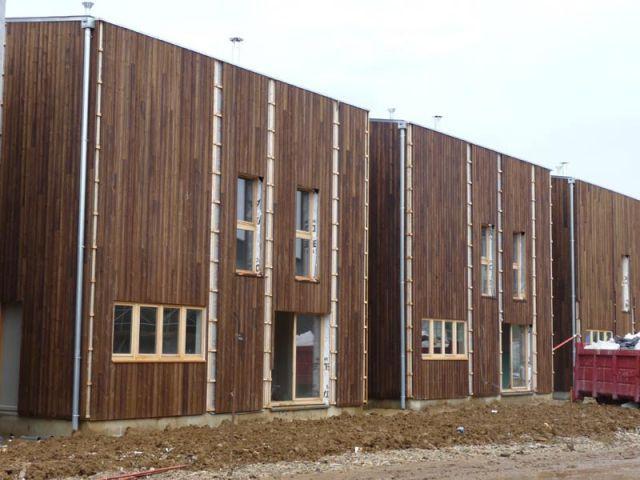 """Un chantier """"propre"""" - maisons bois écologiques"""