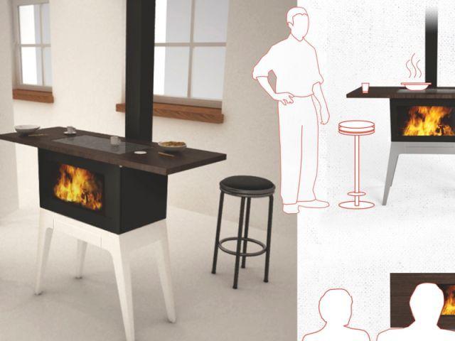 Le po le bois un objet design durable et fonctionnel for Cuisiniere design