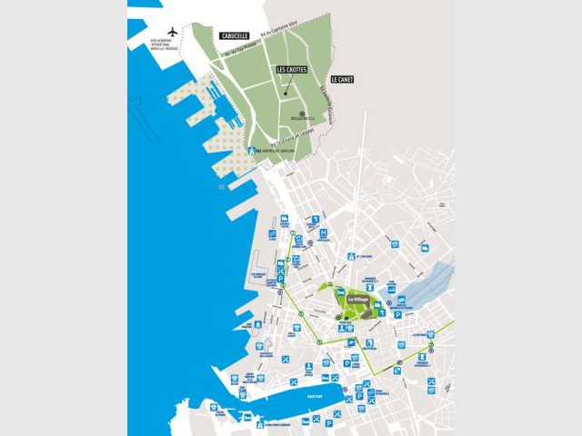 "plan Marseille ""Le Village"""