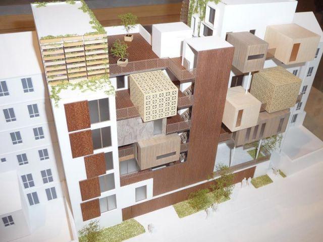 Un quartier vertical - Maison