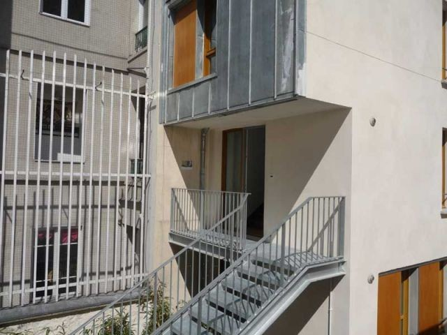 Reconstruction - rue chabrol