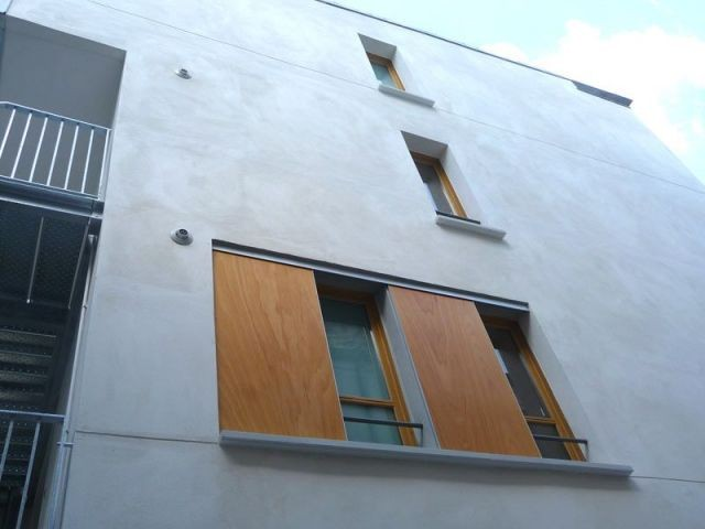 Volets coulissants - rue chabrol