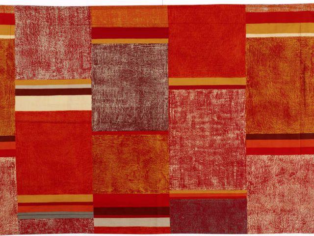 "Textile ""Terre Lointaine"" - Zofia Rostad"