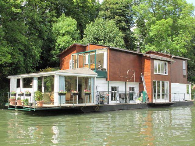 Vingt huit ans bord d 39 une maison flottante - Maison flottante ...