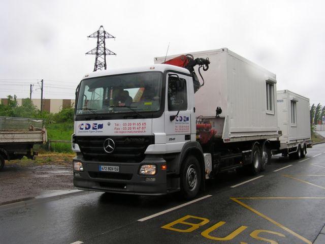 transport des conteneurs par camion