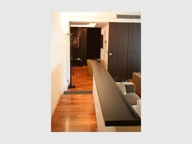 Couloir - Reportage appartement Emmanuel De Landtsheer