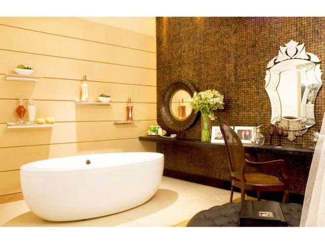 Salle de bains - noix de coco