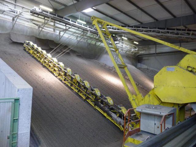 Préparation des terres - Reportage usine Imerys - Tuile terre cuite