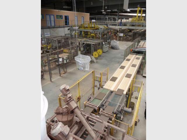 Mouleuse - Reportage usine Imerys - Tuile terre cuite