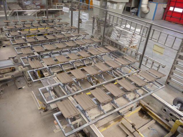 Séchage - Reportage usine Imerys - Tuile terre cuite