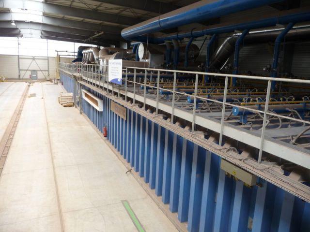 Cuisson - Reportage usine Imerys - Tuile terre cuite
