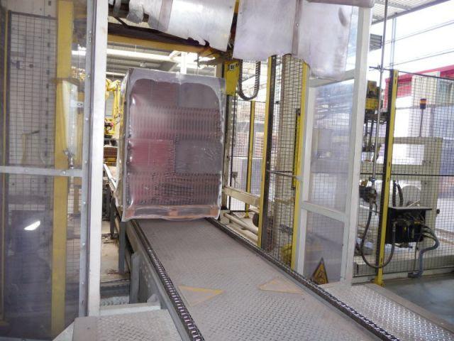 Palettisation - Reportage usine Imerys - Tuile terre cuite