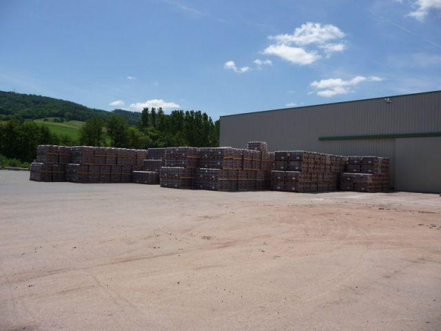 Parc - Reportage usine Imerys - Tuile terre cuite