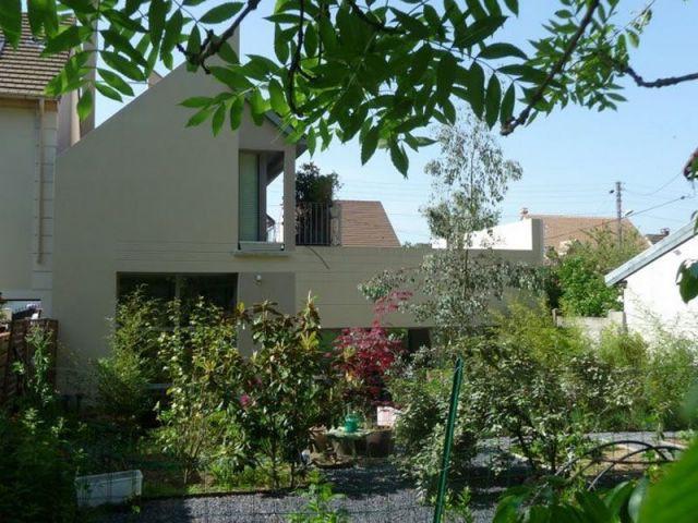 Vue du dehors - Maison d'architecte Isabelle Mahe