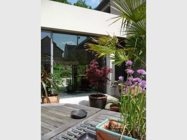 Esquisse du jardin - Maison d'architecte Isabelle Mahe