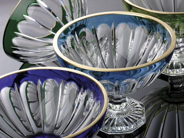 verres en cristal
