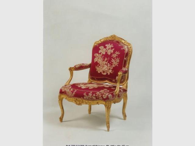fauteuil Régence Tilliard