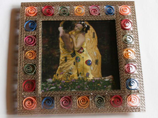 cadre carton par Frédérique Bret