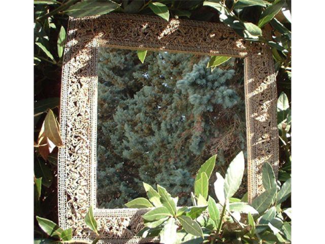miroir en carton Frédérique Bret