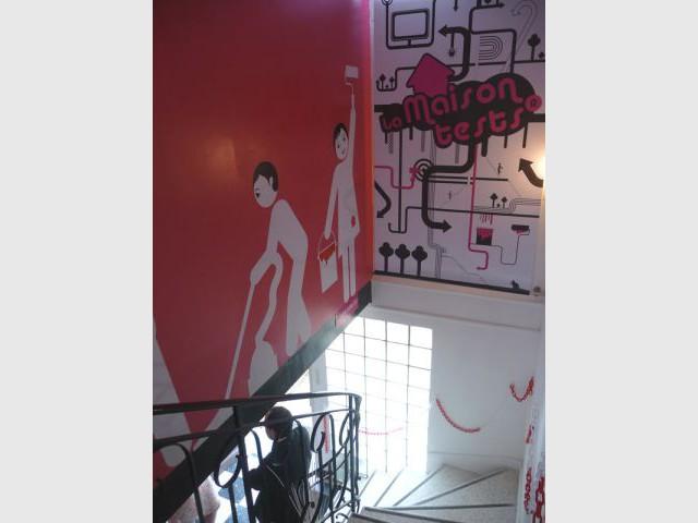 Escalier - Maison test