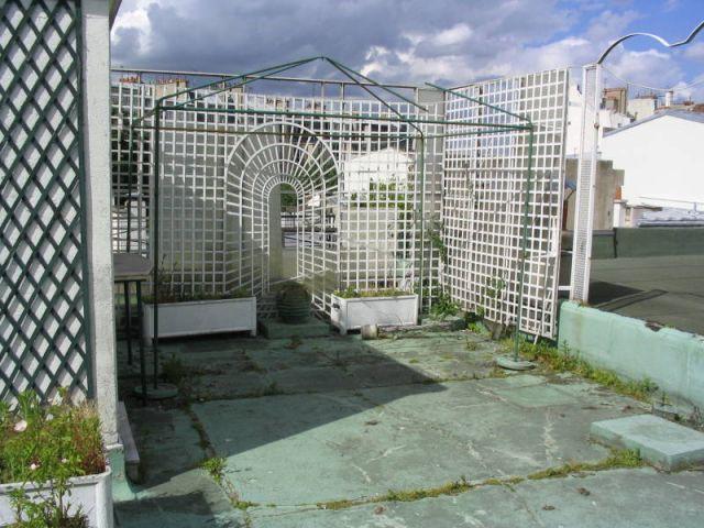 Avant - Reportage terrasse sur les toits de Paris - Sabz