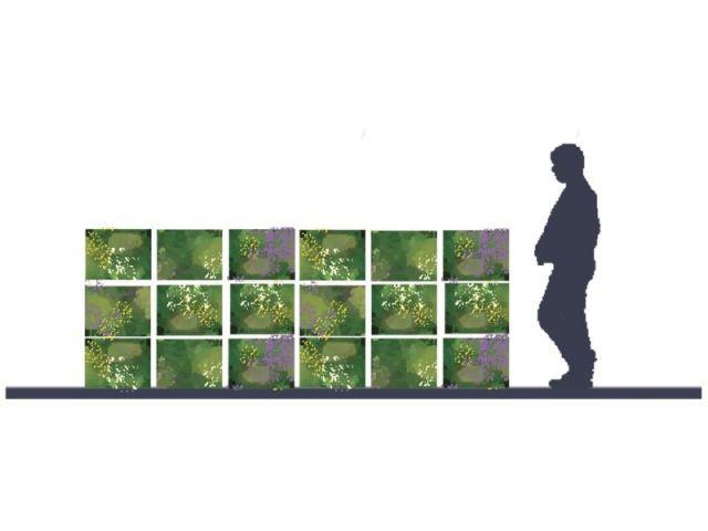 """""""Un balcon aux mille arômes"""" - concept de terrasse"""