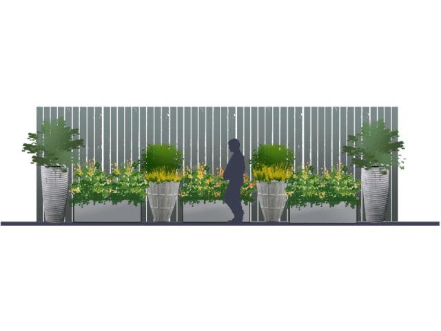 """""""Un beau décor au Nord"""" - concept de terrasse"""