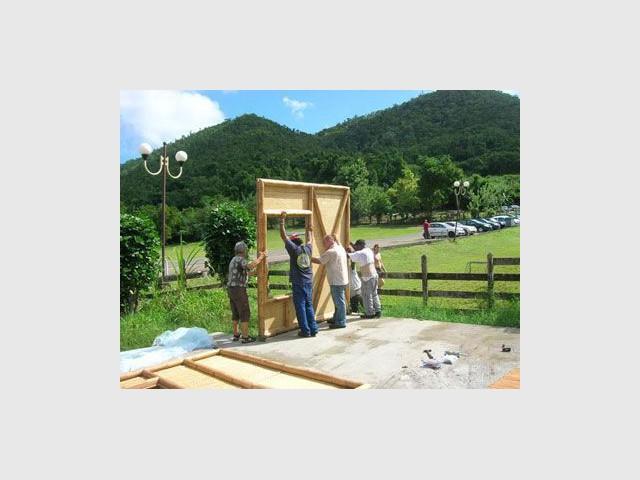 Construction maison bambou - maison bambou