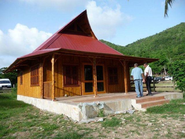Etape 7 - maison bambou
