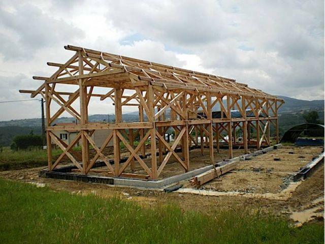 La structure - ossature bois douglas