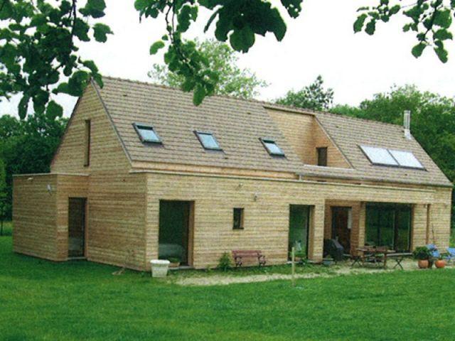 La maison à ossature bois - maison économe