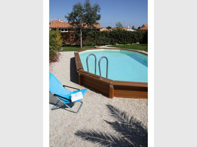 Piscines l 39 option hors sol for Prix piscine caron