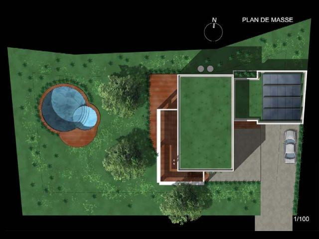 Vue 3D - Villa concept