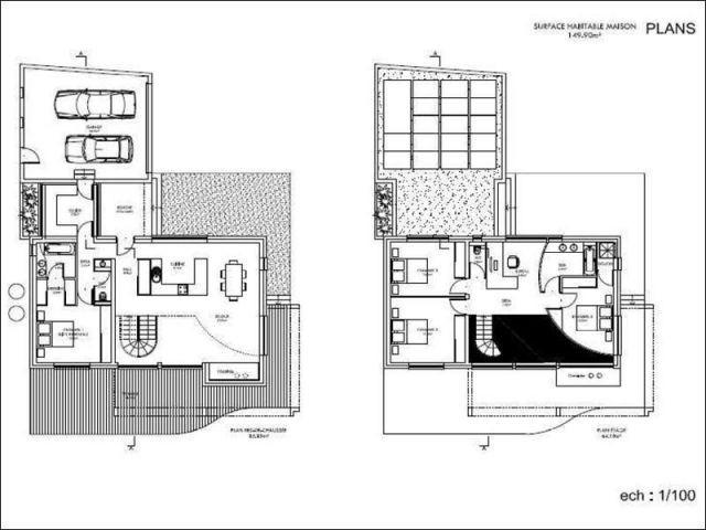 Plan - Villa concept