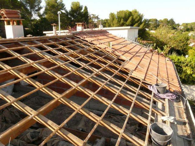 Dépose de la toiture - Reportage autoconstruction