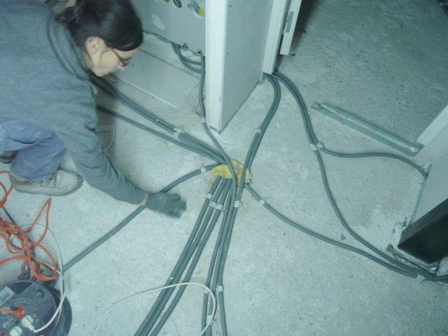 Electricité - Reportage auto-construction