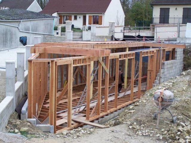 Ossature bois Zone Jour - Témoignage auto-construction