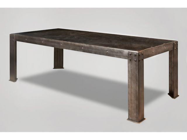 Une autre table - table atelier Mathieu Lenorman