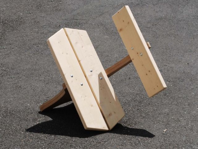 chaise - exposition VIA