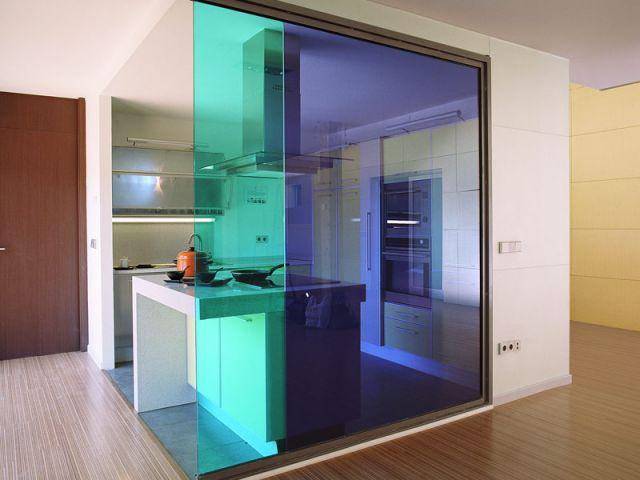 cloisons le pouvoir du verre. Black Bedroom Furniture Sets. Home Design Ideas