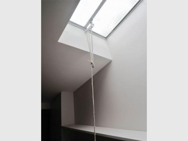 Puits de lumière - Rénovation loft Paris